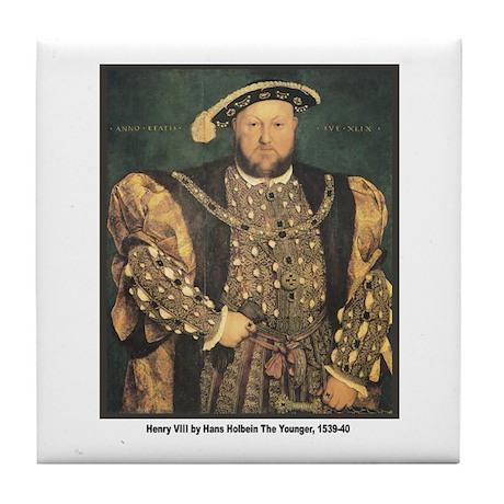 Holbein Henry VIII Tile Coaster