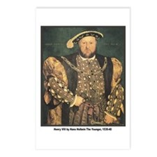 Holbein Henry VIII Postcards (Package of 8)