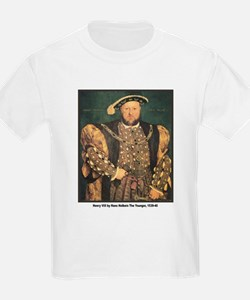 Holbein Henry VIII (Front) Kids T-Shirt