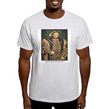 Holbein Henry VIII Ash Grey T-Shirt