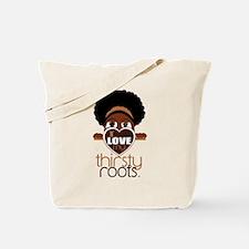 Natural With Headband Tote Bag