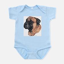 Bullmastiff Portrait Infant Creeper