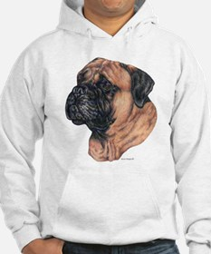 Bullmastiff Portrait Jumper Hoody