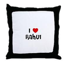 I * Rahul Throw Pillow