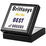 Brittany Best of Breeds Keepsake Box