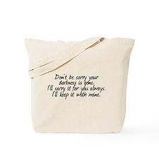 Lumen's Darkness Tote Bag