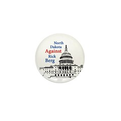 Political Pin Against Rick Berg
