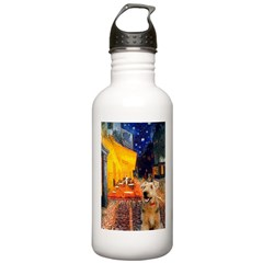 Cafe - Airedale (S) Water Bottle