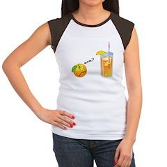 Mom?... Women's Cap Sleeve T-Shirt