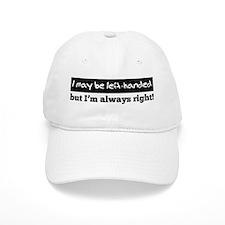 Left-Handed Baseball Cap