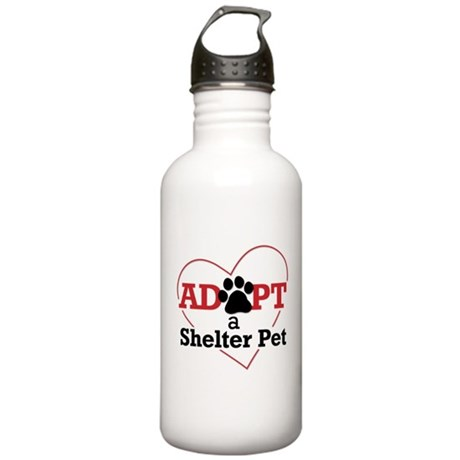 Adopt a Shelter Pet Stainless Water Bottle 1.0L