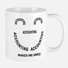 Accounting Smile Mug