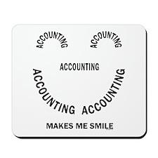 Accounting Smile Mousepad