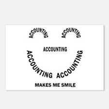 Accounting Smile Postcards (Package of 8)