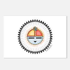 Hopi Dawa - Sun - Postcards (Package of 8)