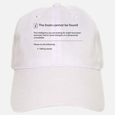 Brain cannot be found! Baseball Baseball Cap
