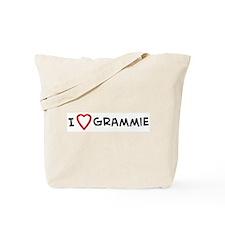 I Love Grammie Tote Bag