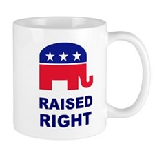 Raised Right GOP Mug