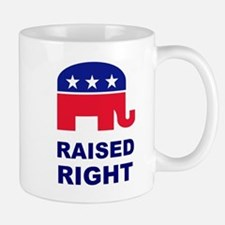 Raised Right GOP Small Small Mug