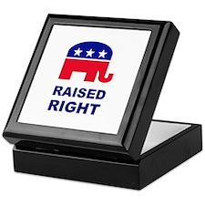Raised Right GOP Keepsake Box