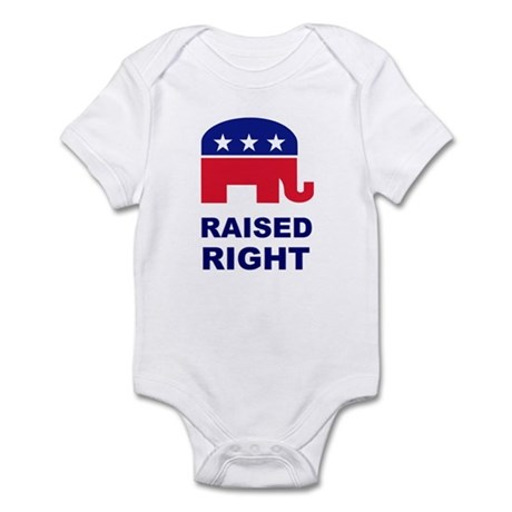 Raised Right GOP Infant Bodysuit