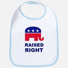 Raised Right GOP Bib