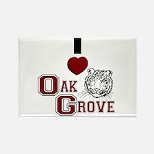 Oak Grove, Alabama Rectangle Magnet (10 pack)