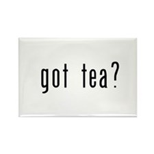 got tea? Rectangle Magnet