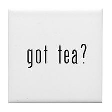 got tea? Tile Coaster