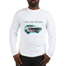 dodge_challenger_turquoise Long Sleeve T-Shirt