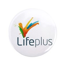 "Lifeplus 3.5"" Button (100 pack)"
