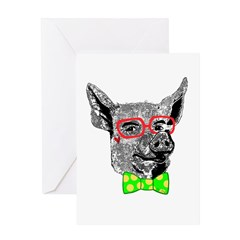 Mr. Pig Greeting Card