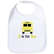 yellow school bus Bib