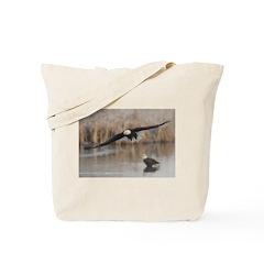 Incoming Eagle Tote Bag