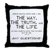 The Way Throw Pillow