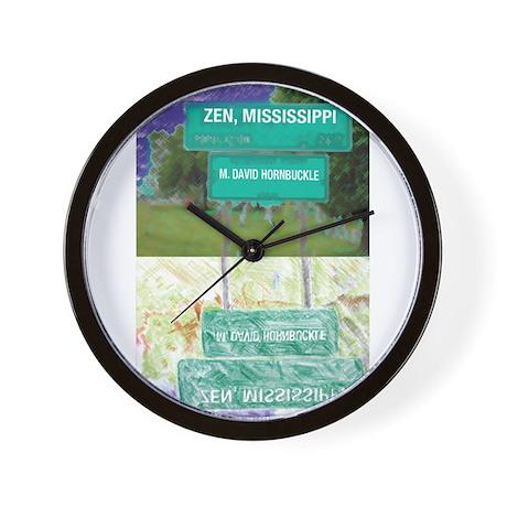 Zen, Mississippi Wall Clock