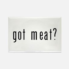 got meat? Rectangle Magnet