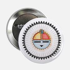 """Unique Hopi 2.25"""" Button"""