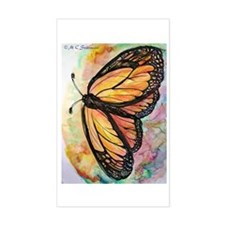 Butterfly, Colorful, Decal