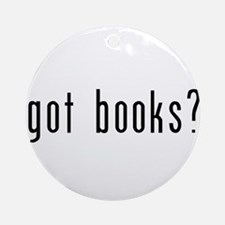 got books? Ornament (Round)