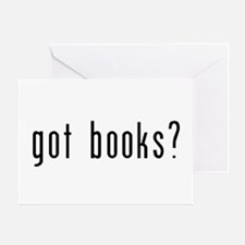 got books? Greeting Card