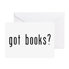 got books? Greeting Cards (Pk of 20)