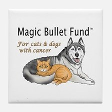 Cute Magic bullet fund Tile Coaster