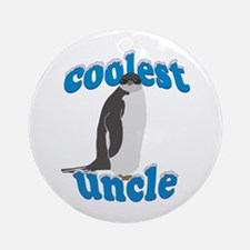 Coolest Uncle Ornament (Round)