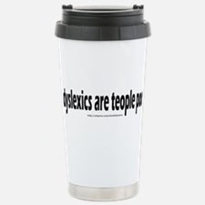 teople poo Travel Mug