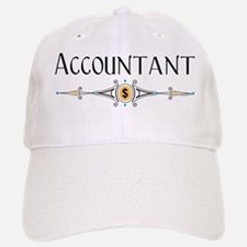 Accountant Decorative Line Baseball Baseball Cap