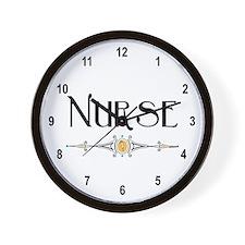 Nurse Decorative Line Wall Clock
