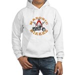 Masonic Bikers Hooded Sweatshirt