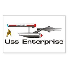 Starship Enterprise Decal