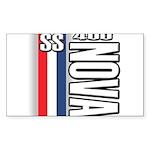 Nova 400 Sticker (Rectangle 50 pk)